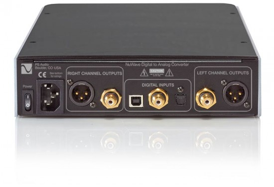 ps audio DAC NuWave-back