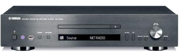 yamaha cd n500 cd e network player con dac. Black Bedroom Furniture Sets. Home Design Ideas
