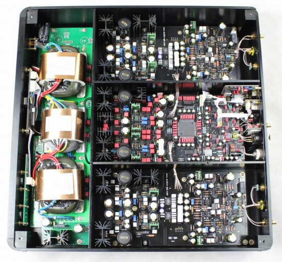 Fostex HP-A8C interno
