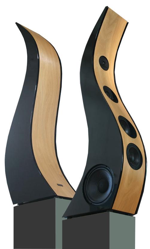 Mansberg sinus i diffusori pi sexy del mondo - Casse acustiche design ...