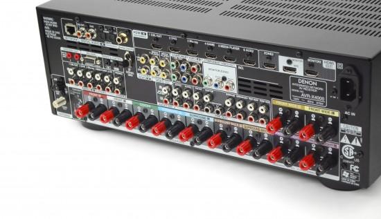 Denon AVR-X4000-back
