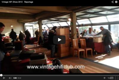 Vintage HiFi Show 2013 - Reportage   Vintage HiFi Club