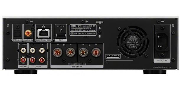 Sony HAP-S1-rear