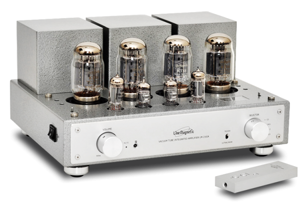 Line Magnetic Audio 216IA Integrated Amplifier-front