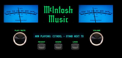 McIntoshMusicStreamer