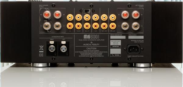 Musical Fidelity M6 500i-rear