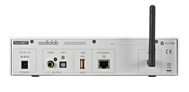 Audiolab LAB MNET-rear