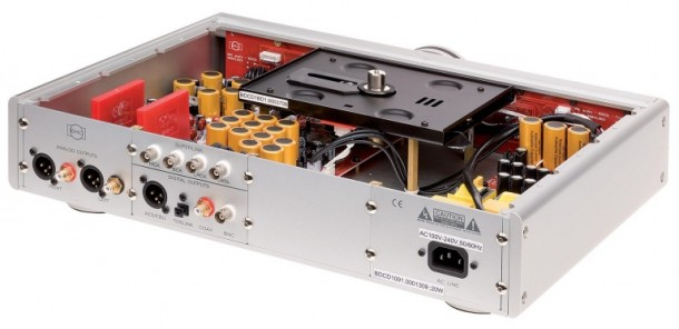 BMC Audio BDCD1.1 CD transport-opened