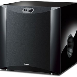 Yamaha NS-SW300 Subwoofer Advanced YST II, Twisted Flare Port, Piano Black