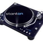 Stanton ST-150 giradischi professionale a trazione diretta con testina puntina e panno sottodisco