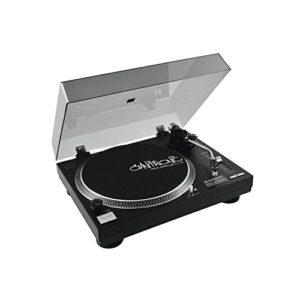 Giradischi Piatto Dj Professionale Omnitronic DD-2520 USB NERO
