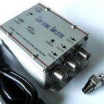 Chance SAS - Amplificatore Segnale TV Splitter con 3 Uscite - 000100021