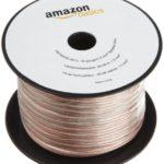 AmazonBasics - Cavo per altoparlanti calibro 16/1,3 mm², lunghezza: 30,48 m