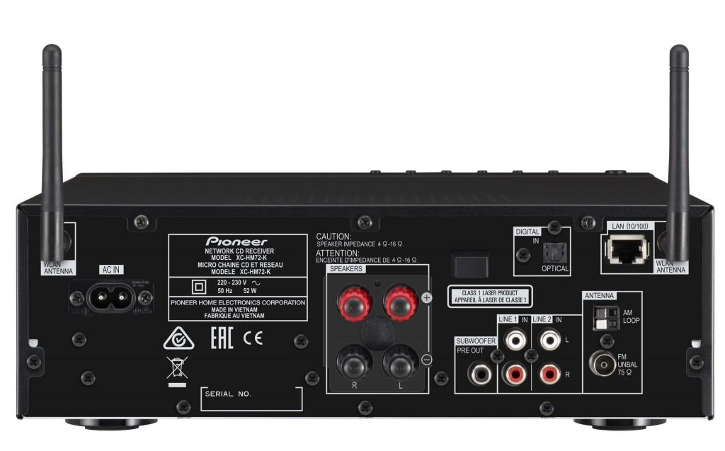 Pioneer X-HM72-K-rear