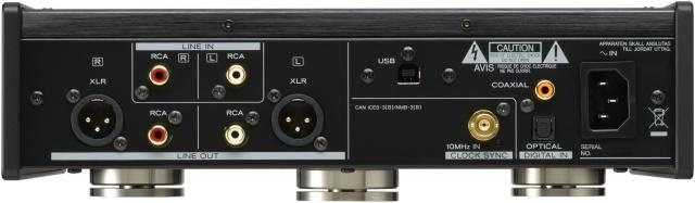 Teac UD-503-rear