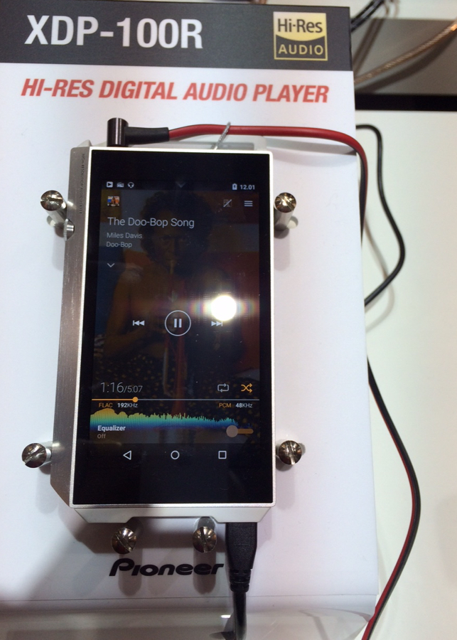 XDP-100R Digital Audio Player pioneer