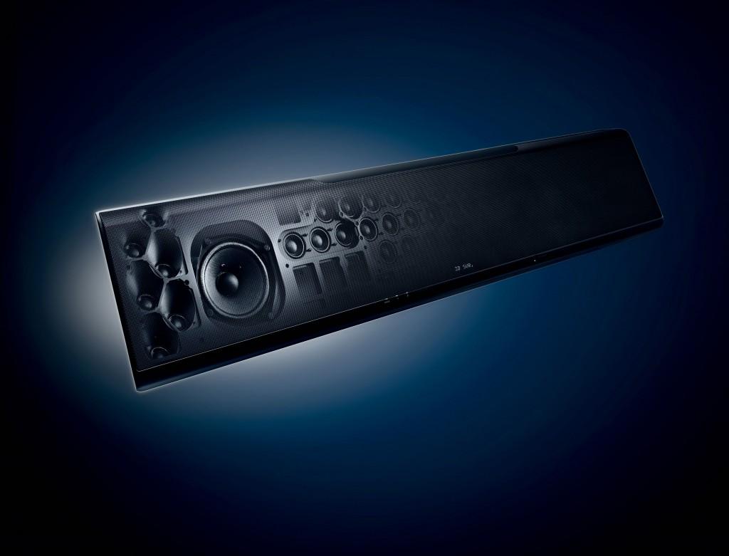 Yamaha YSP-5600 opened
