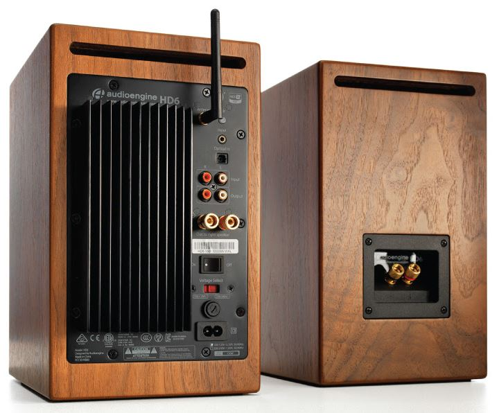 Audioengine HD6 rear