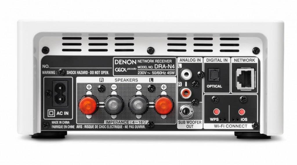 Denon DRA-N4-rear