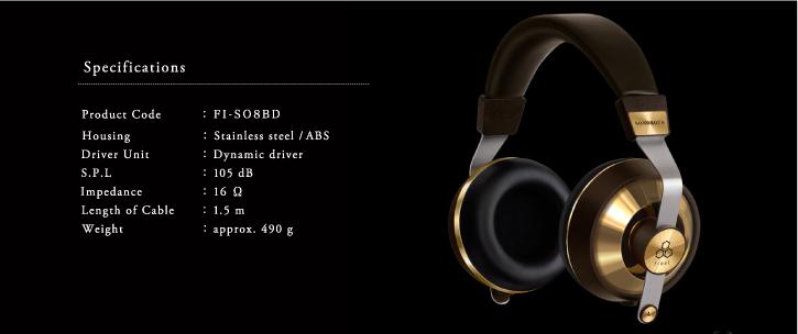 Final Audio Design Sonorous VIII specifiche