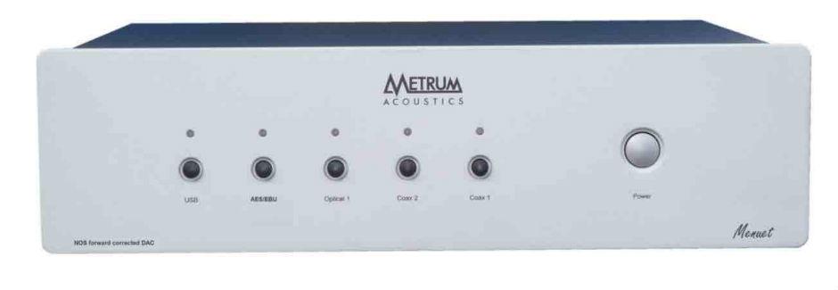 Metrum Acoustics Transient R-2R Menuet