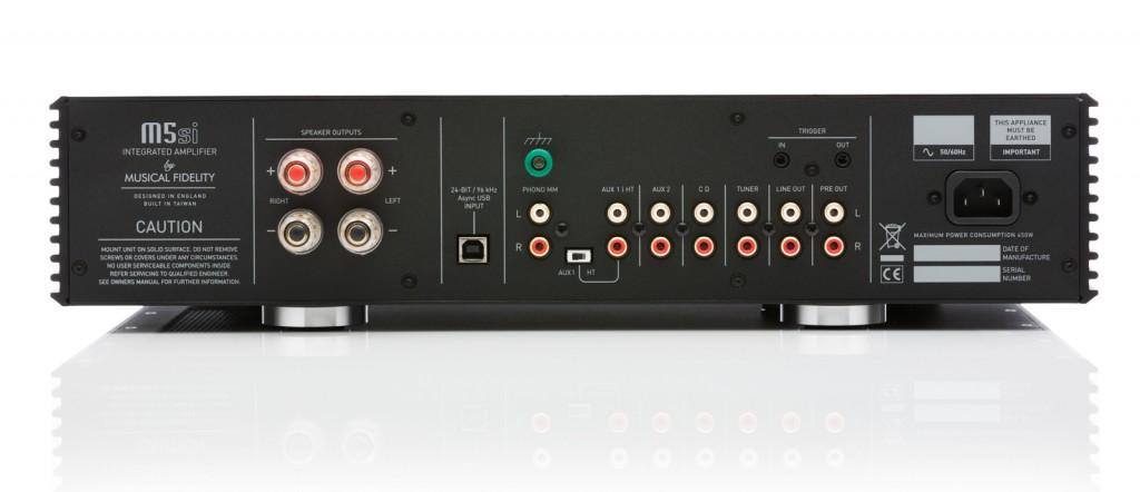 Musical Fidelity M5si rear