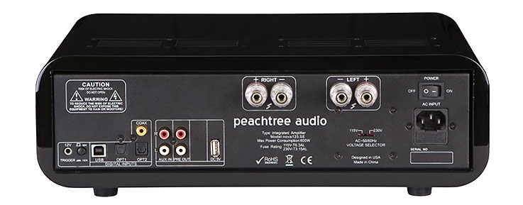 Peachtree Audio Nova 125SE-rear