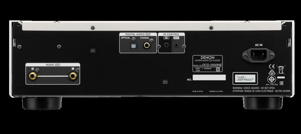 Denon DCD-2500NE-rear