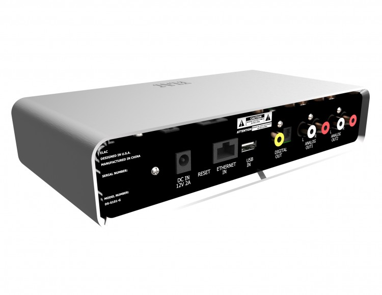 ELAC DS-101 Discovery Music Server-rear