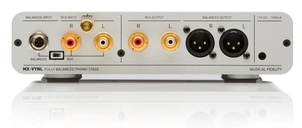 Musical Fidelity MX-VYNL rear