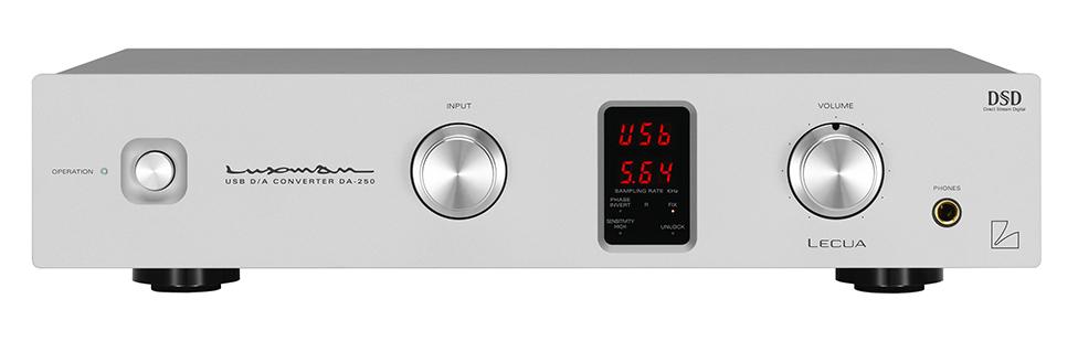Luxman DA-250 DSD DAC Headphone Amp Class A Preamp