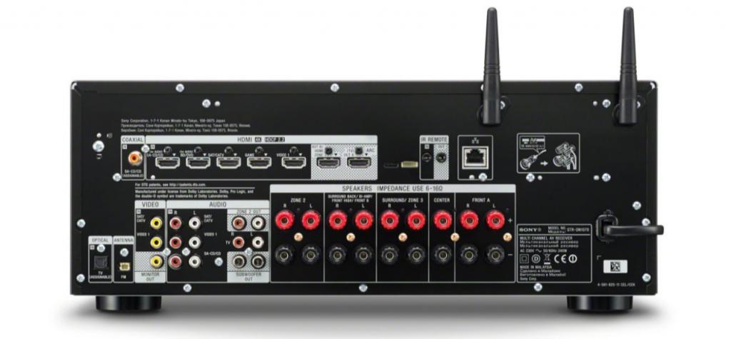 Sony STR-DN1070-back