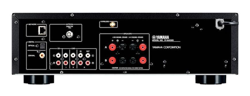Yamaha R-N402D MusicCast rear