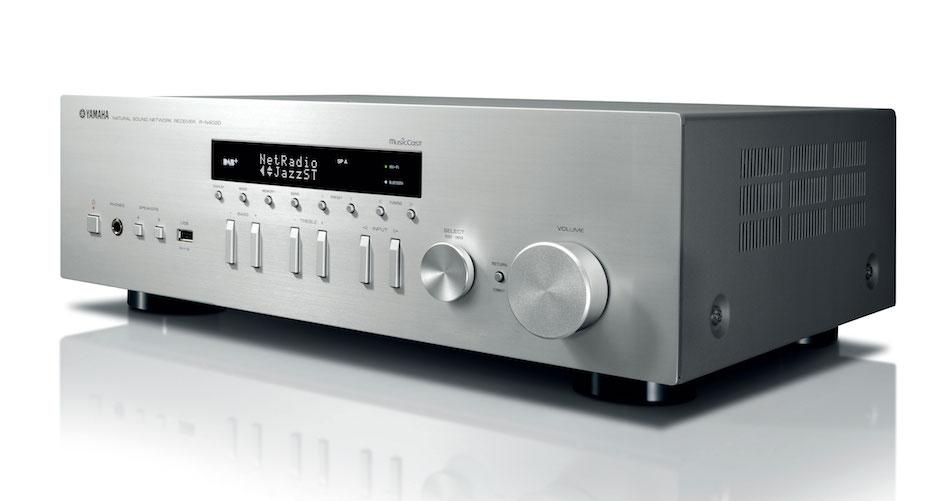 Yamaha R-N402D MusicCast silver