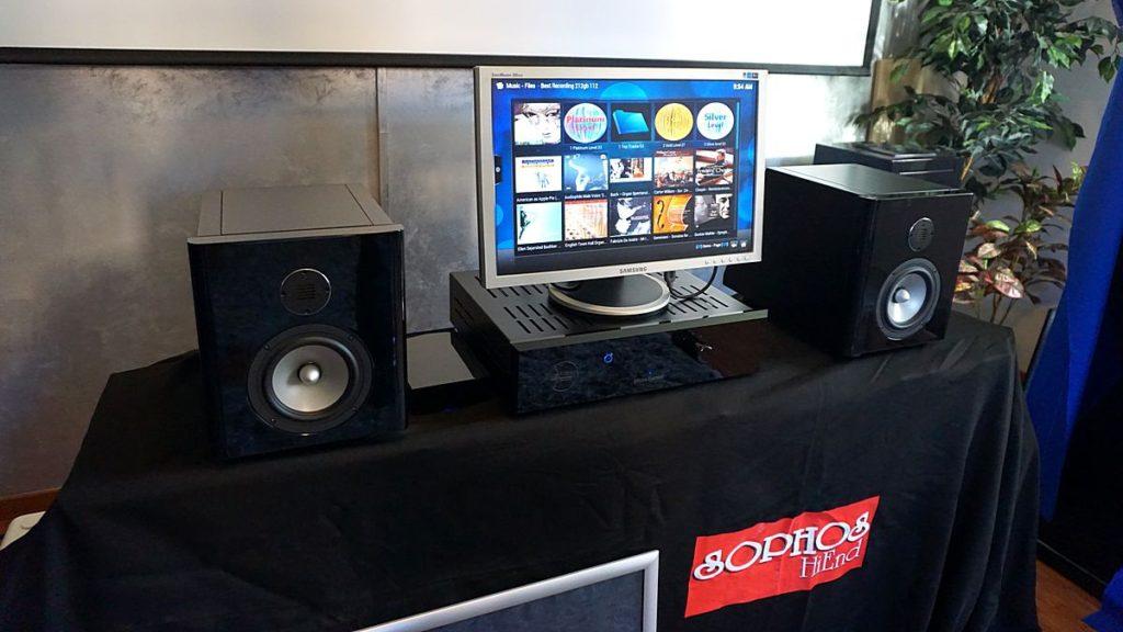 Blue Moon Audio Technology Micro System Entertainment Center-casse