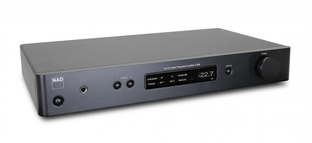 NAD C 338 amplificatore streamer wifi