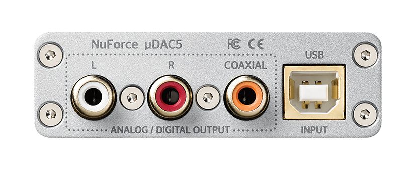 NuForce by Optoma UDAC5 rear