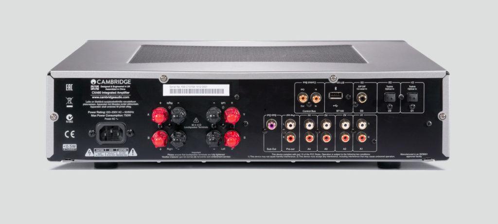Cambridge Audio CXA60 rear
