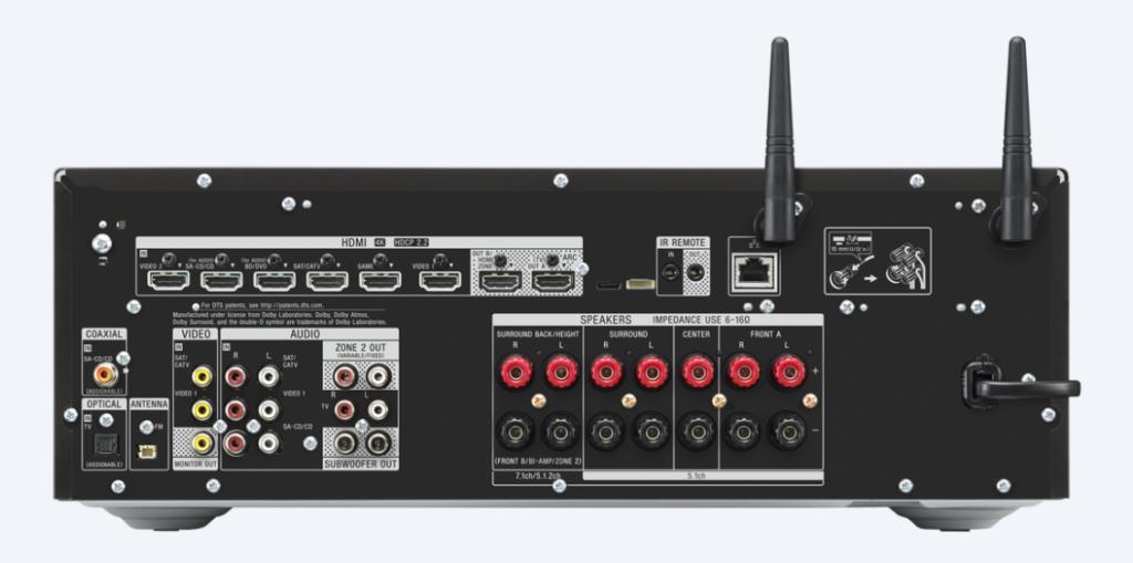 Sony STR-DN1080 rear