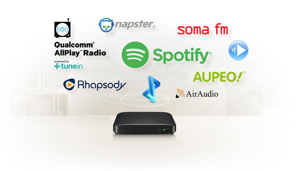 Asus Clique R100 servizi streaming