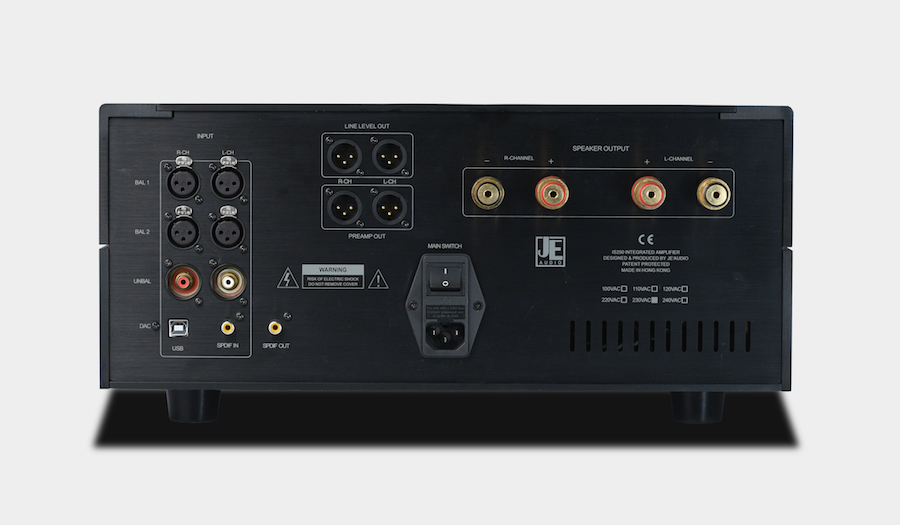 JE Audio IS250 rear