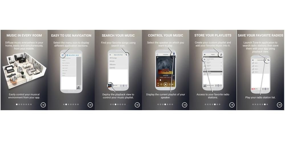 NuPrime WR-100 app