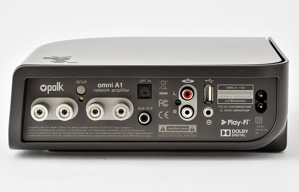 Polk Audio Omni A1 rear