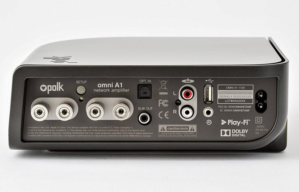 Polk Audio Omni A1 rear
