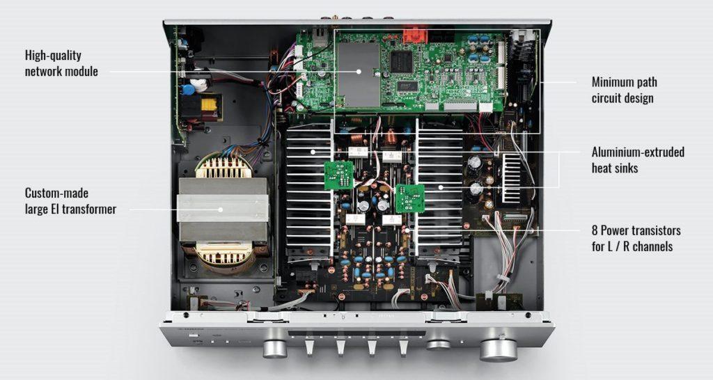 Yamaha R-N803D inn