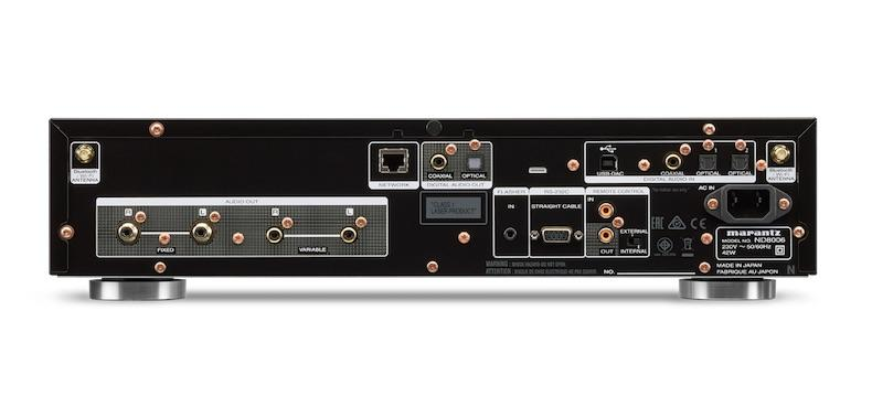 Marantz ND8006 rear