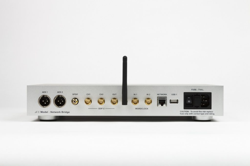 dCS Network Bridge rear