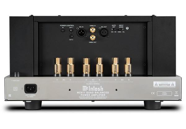 mcintosh mc611 rear