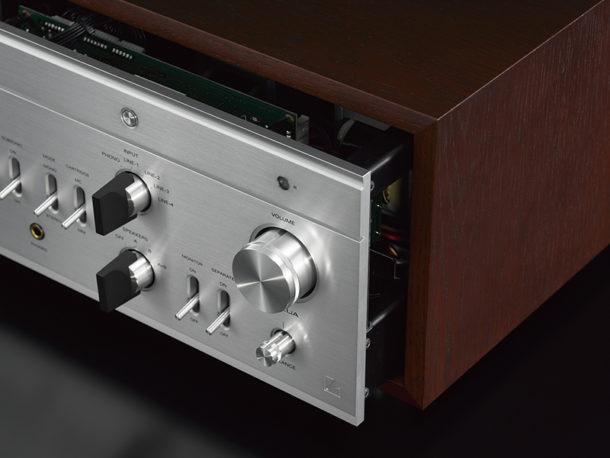 Luxman LX-380 amplificatore ibrido a valvole