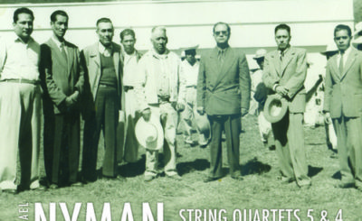 Michael Nyman- String Quartets 5 & 4